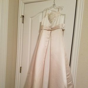 Flower Girl Dress Size 7 Ball gown